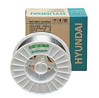 Проволока сварочная HYUNDAI Supercored 71 д=1,2 мм, 15 кг