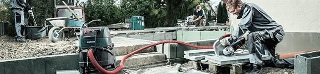 Строительные и промышленные пылесосы