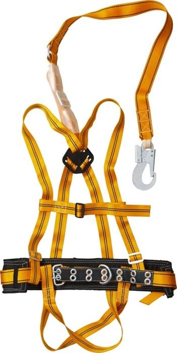 СИБИН с наплечными и набедренными лямками, материал стропа - лента, лямочный пояс ППДаА  11563 - фото 10342