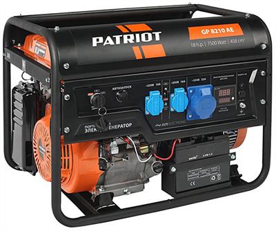 Генератор бензиновый PATRIOT GP 8210AE - фото 107397
