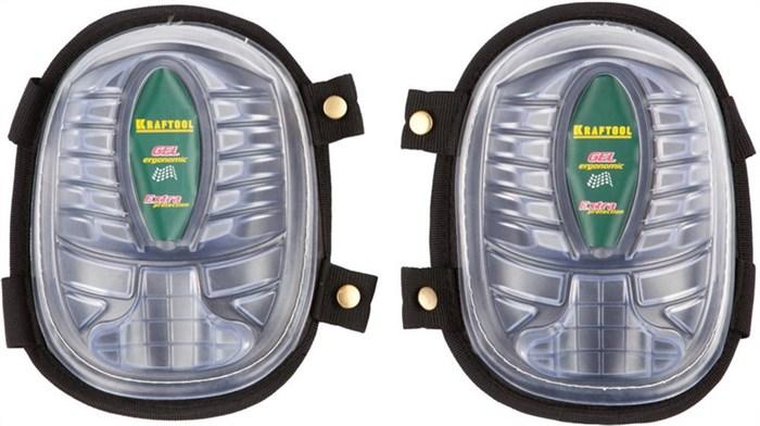 KRAFTOOL гелевая вставка, дополнительная защитная накладка, наколенники защитные 11510 - фото 12415