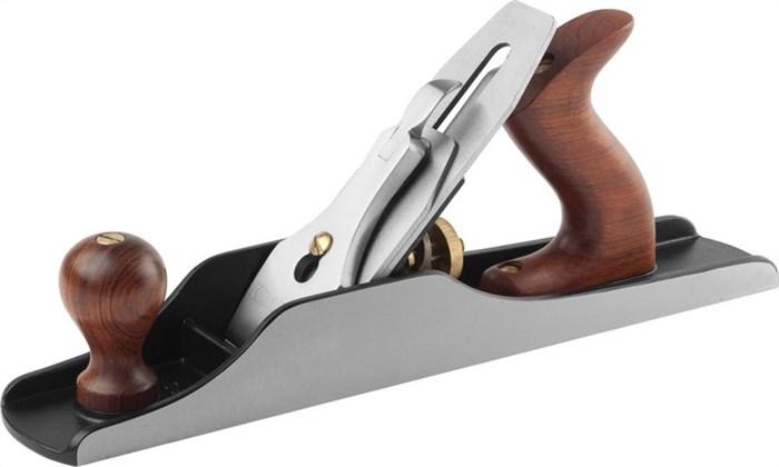 KRAFTOOL 350х50 мм, рубанок металлический двойной с ножом модель «A5» 18527-35 - фото 12443
