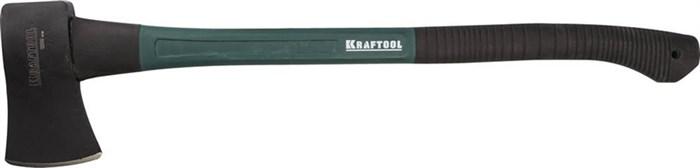 KRAFTOOL 700 мм, 1.2 кг универсальный топор с фиберглассовой рукояткой EXPERT 20651-12 - фото 12496