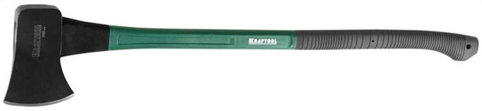 KRAFTOOL 900 мм, 1.6 кг универсальный топор с фиберглассовой рукояткой EXPERT 20651-16 - фото 12497