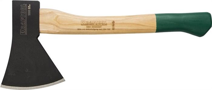 KRAFTOOL 1000 г, топор плотницкий с рукояткой из орешника 20653-10 - фото 12498