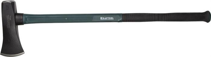 KRAFTOOL 3600 г., тяжелый колун  кованный с двухкомпонентной фиберглассовой рукояткой 900 мм 20657-36 - фото 12503