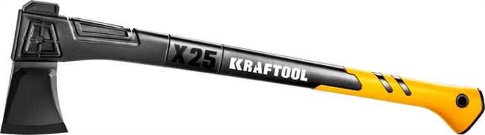 KRAFTOOL 2450 г, 710 мм, топор-колун Х25 20660-25 - фото 12504