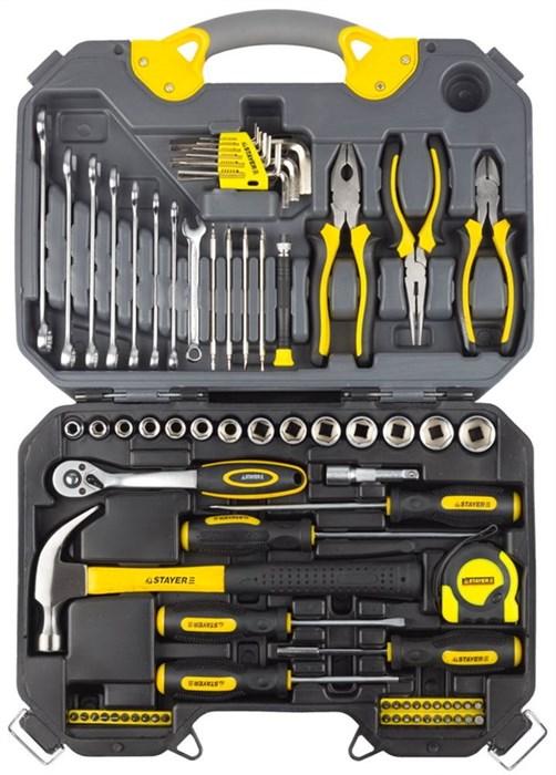 STAYER 78 шт., набор слесарно-монтажного инструмента 27710-H78 - фото 12696