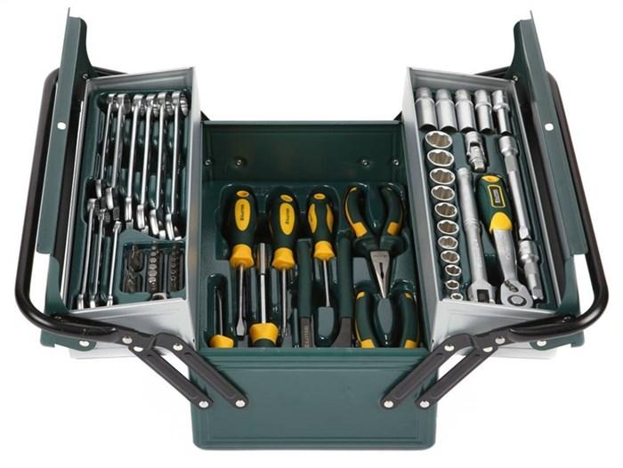 KRAFTOOL 59 шт., набор слесарно-монтажного инструмента 27978-H59 - фото 12762