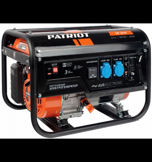 Генератор бензиновый PATRIOT  GP 2510 - фото 21426