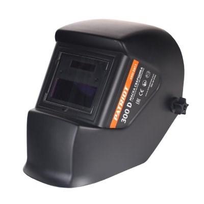 Маска сварщика PATRIOT 300D в индивидуальной упаковке - фото 22025