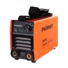 Аппарат сварочный инверторный PATRIOT 250DC MMA Кейс - фото 22171
