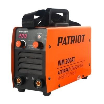 Аппарат сварочный инверторный PATRIOT WM 200AT MMA - фото 22172
