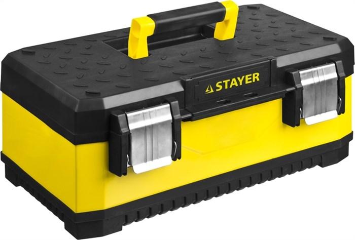"Ящик для инструмента ""METALPRO"" 2-38011-18_z01, металлический, STAYER Professional - фото 23623"