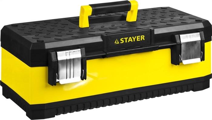 "Ящик для инструмента ""METALPRO"" 2-38011-21.5_z01, металлический, STAYER Professional - фото 23624"