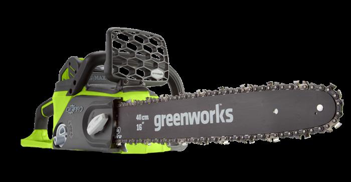 GreenWorks GD40CS40, цепная пила аккумуляторная - фото 23918
