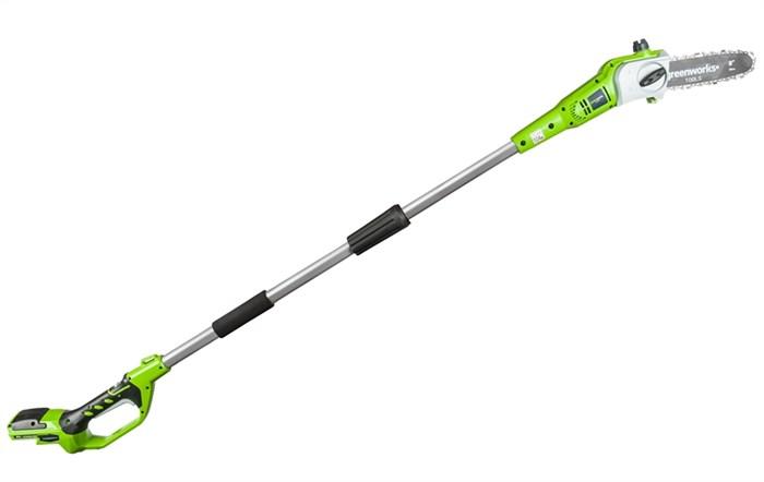 Greenworks G24PS20 высоторез-сучкорез аккумуляторный - фото 23968