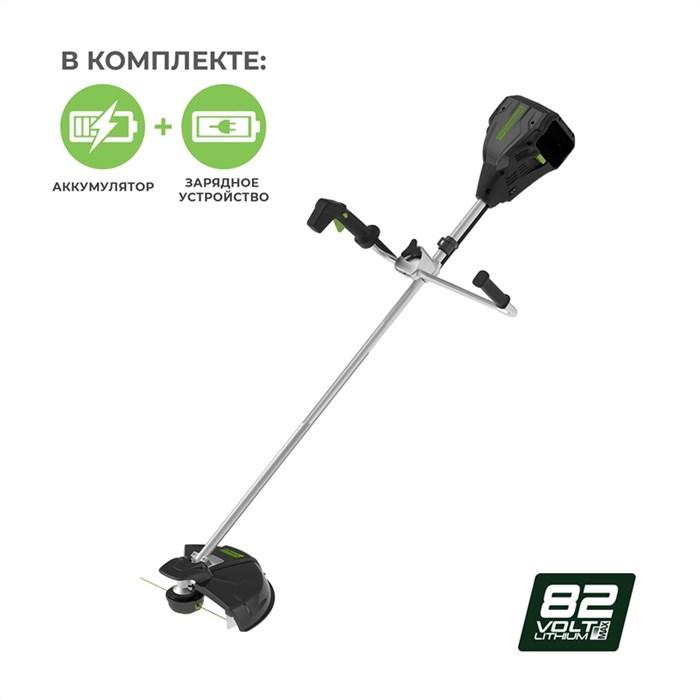Greenworks GС82BCBK5, триммер аккумуляторный - фото 24025