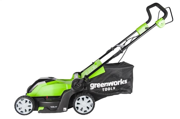 Greenworks GLM1241, газонокосилка электрическая - фото 24125