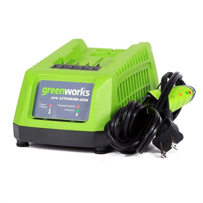 Зарядное устройство Greenworks G24UC, 24V - фото 25105