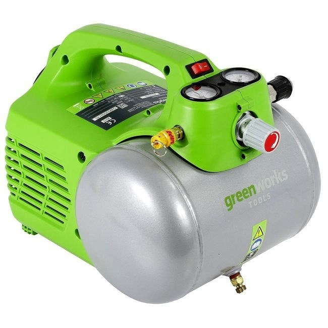 Greenworks GAC6L, компрессор электрический - фото 25120