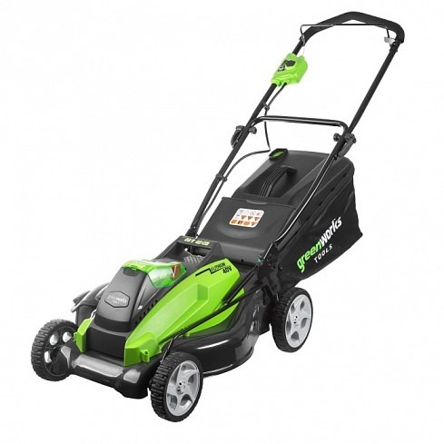 Greenworks G40LM45K4, газонокосилка аккумуляторная - фото 25224