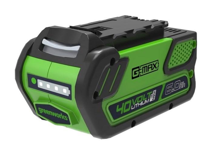 Аккумулятор GreenWorks G40B6, 40V, 6 А.ч - фото 25365