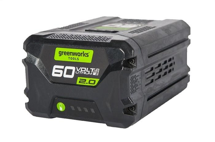 Аккумулятор GreenWorks G60B2, 60V, 2 А.ч - фото 25383