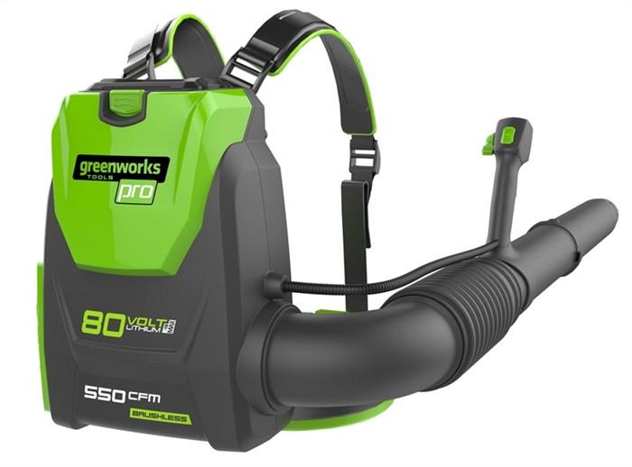 Greenworks GD80BPB, воздуходувка ранцевая, аккумуляторная - фото 25389