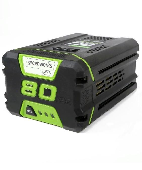 Аккумулятор GreenWorks G80B2, 80V, 2 А.ч - фото 25392