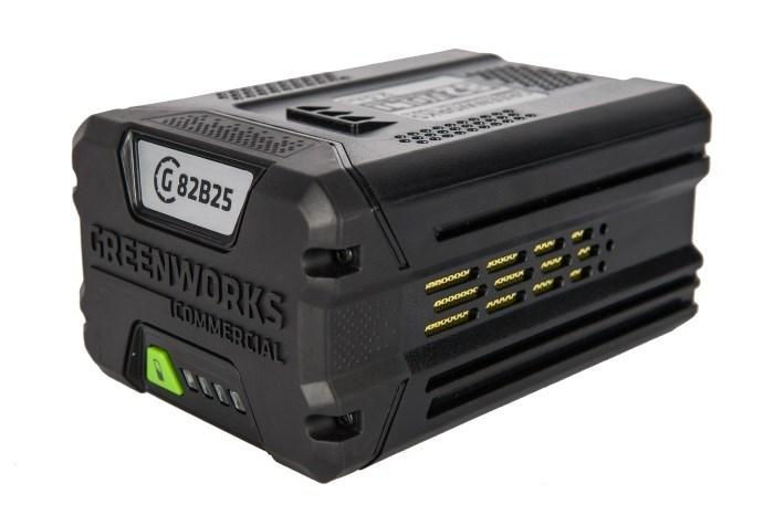 Аккумулятор GreenWorks G82B2, 82V, 2,5 А.ч - фото 25415