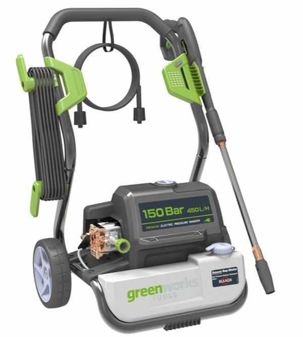 Greenworks G7 GPWG7 мойка высокого давления 150 bar - фото 25419