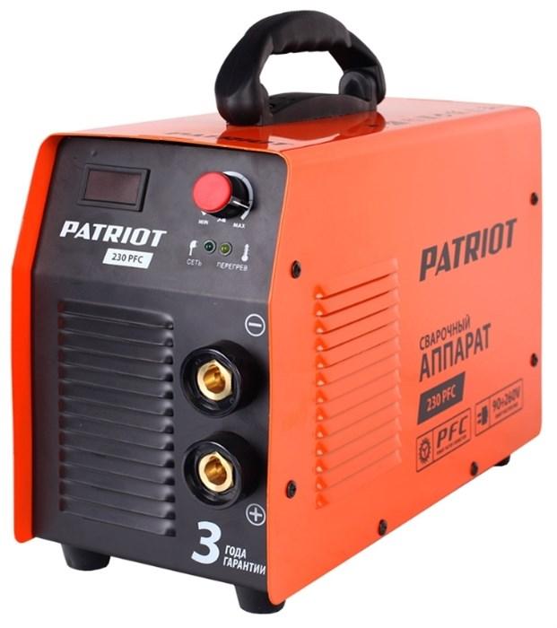 Аппарат сварочный PATRIOT 230 PFC - фото 26971