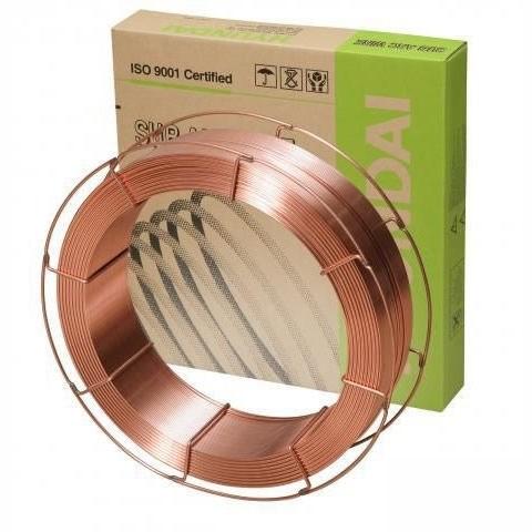 Проволока для сварки под флюсом HYUNDAI M-12K д=4,0 мм, 25 кг - фото 5073