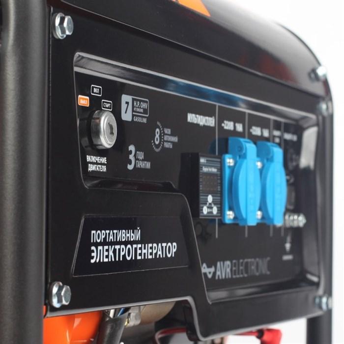 Генератор бензиновый PATRIOT  GP 3510E - фото 5208