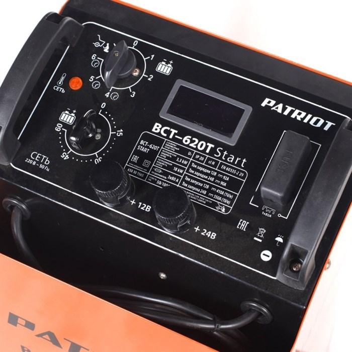 Пускозарядное устройство PATRIOT BCT-620T Start - фото 5244
