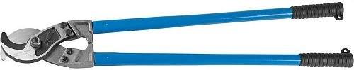 """Кабелерез ЗУБР """"ЭКСПЕРТ"""" для резки небронированного кабеля из цв металлов,сталь У8А, кабель сечением до 300 мм2, 800мм - фото 6471"""