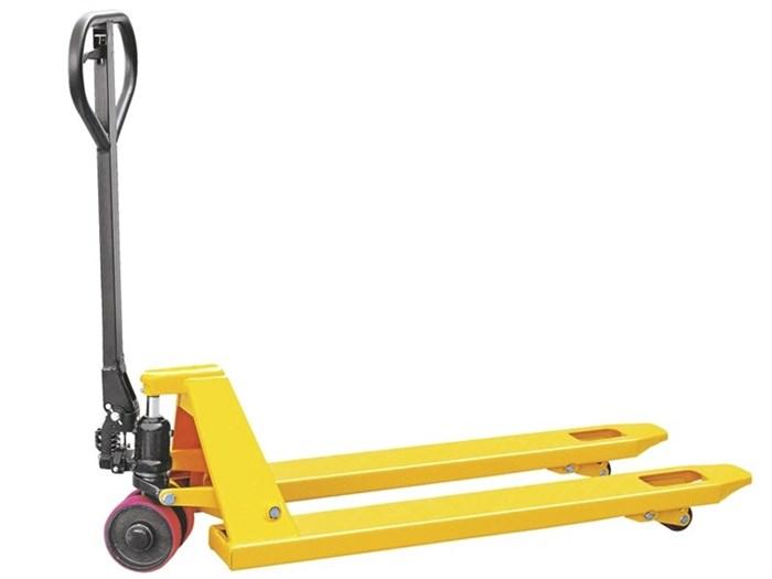 Тележка гидравлическая TOR г/п 2000 кг DB (полиуретановые колеса) - фото 64789