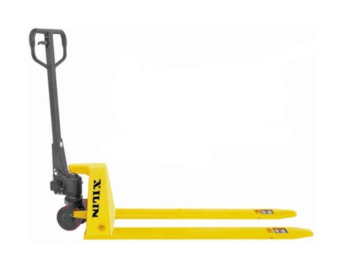 Тележка гидравлическая XILIN г/п 1500 кг BFL15 низкопрофильная (полиуретан.колеса) - фото 64794