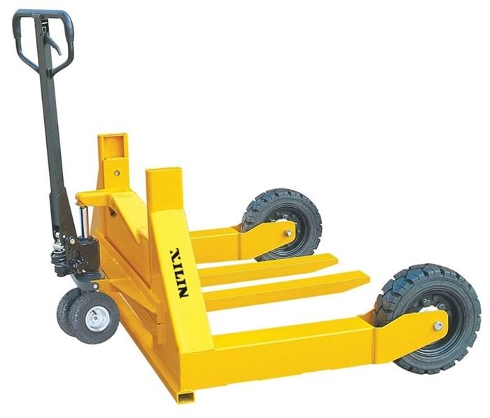 Тележка гидравлическая XILIN г/п 1500 кг HW для бездорожья (резин.колеса) - фото 64795