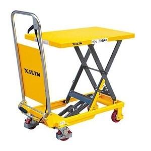 Стол подъемный передвижной XILIN г/п 150 кг 225-740 мм SP150 - фото 64805