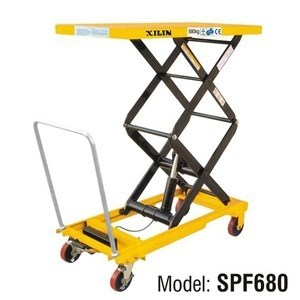 Стол подъемный передвижной XILIN г/п 680 кг 474-1500 мм SPF680 - фото 64812