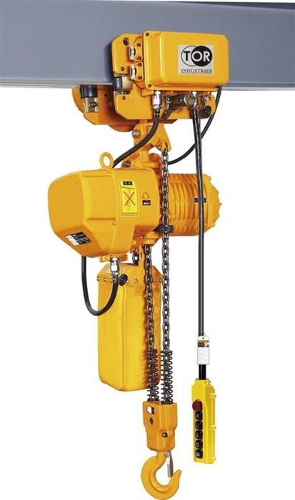 Таль электрическая цепная TOR ТЭЦП (HHBD7.5-03T) 7,5 т 24 м - фото 64917