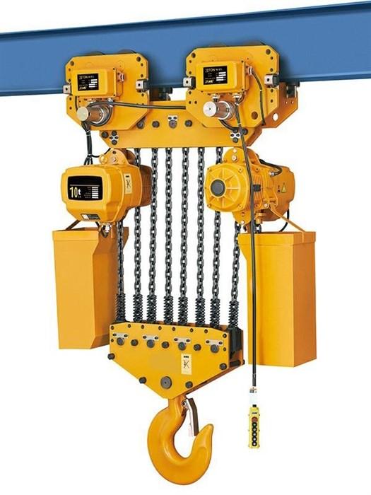 Таль электрическая цепная TOR ТЭЦП (HHBD10-04T) 10,0 т 24 м 380В - фото 64919