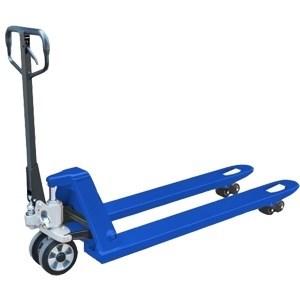 Тележка гидравлическая низкопрофильная TOR г/п 3000 кг 550х1150 мм RHP (полиуретан.колеса) - фото 64961