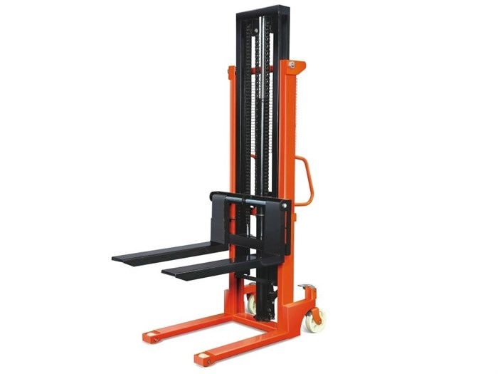 Штабелер ручной гидравлический TOR г/п 1500  кг 85-2000 мм CTY-E - фото 64962