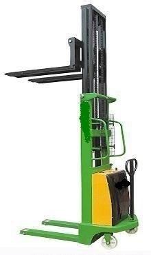 Штабелер гидравлический с электроподъемом TOR г/п 2000 кг 1600 мм CTD - фото 64965