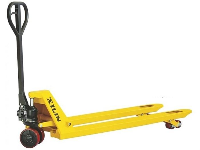 Тележка гидравлическая XILIN г/п 2000 кг DB (резиновые колеса) - фото 64976
