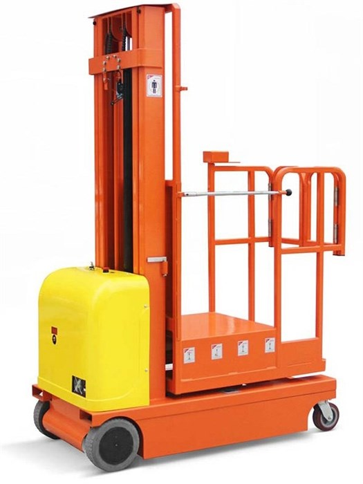 Сборщик заказов самоходный 300 кг 4,5 м TOR GOPZ4503 (трехрамочный) - фото 65020