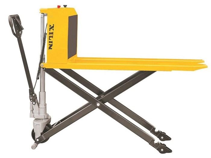 Тележка электрическая 1000 кг XILIN JFD8 с ножничным подъемом (резин.колеса) - фото 65326